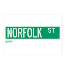 Norfolk Street in NY Postcards (Package of 8)