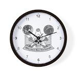 Masonic Virtue Wall Clock