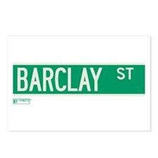 Barclay Street in NY Postcards (Package of 8)