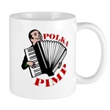 Polka Pimp Small Mug