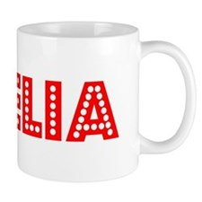 Retro Noelia (Red) Mug
