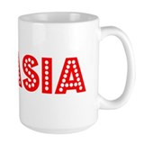 Retro Nyasia (Red) Mug