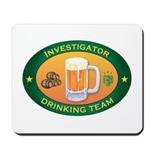 Investigator Team Mousepad