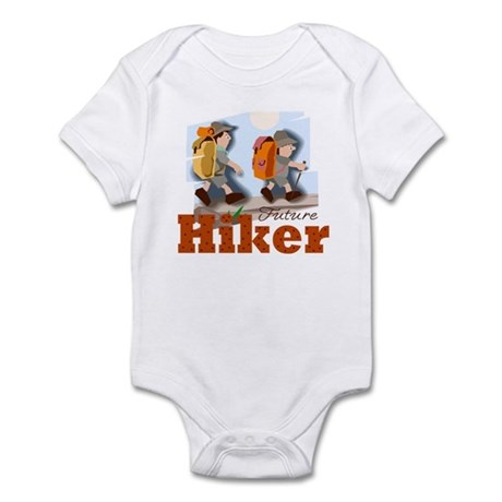 Future Hiker Hiking Baby Toddler Infant Bodysuit