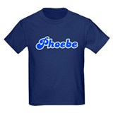 Retro Phoebe (Blue) T