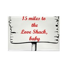 Love Shack Rectangle Magnet (10 pack)