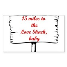 Love Shack Rectangle Sticker 10 pk)