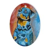 """Idol"" a Rottweiler Keepsake (Oval)"