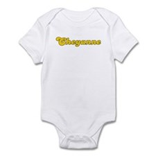 Retro Cheyanne (Gold) Infant Bodysuit