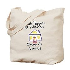 Nana's House Tote Bag