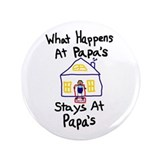 "Papa's House 3.5"" Button"