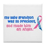 SIDS Angel 1 (Baby Grandson) Tile Coaster