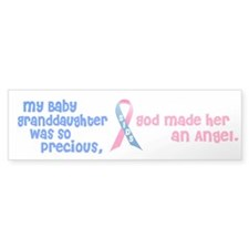 SIDS Angel 1 (Baby Granddaughter) Bumper Bumper Sticker