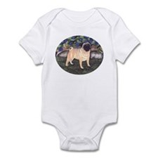Pug Infant Bodysuit