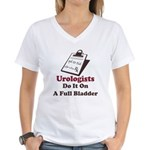 Funny Urologist Women's V-Neck T-Shirt