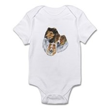 Shetland Sheepdog Sable Infant Bodysuit