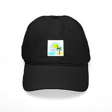 Tropical Graphic Baseball Hat