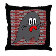 Halloween Ghost Throw Pillow