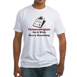 Funny Pulmologist Fitted T-Shirt