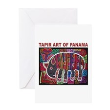 Tapir Mola Greeting Card