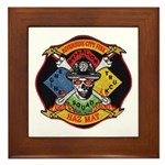 Riverside Hazmat Framed Tile