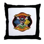 Riverside Hazmat Throw Pillow