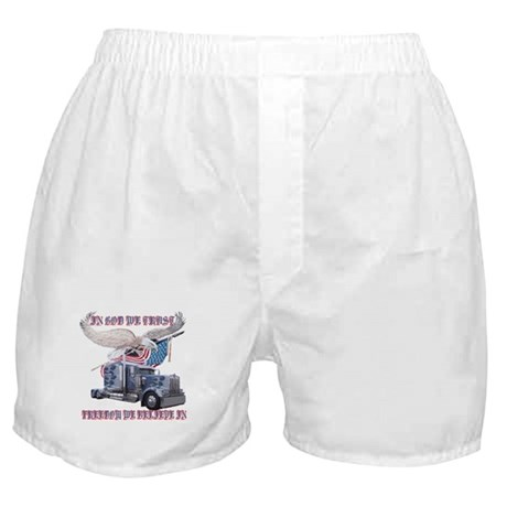 In God We Trust Boxer Shorts