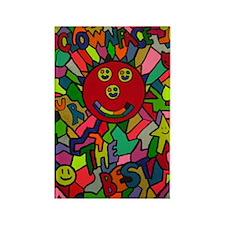 Clownface UR THE BEST Rectangle Magnet
