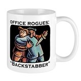 Office Rogues: The Backstabber Mug