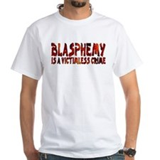 Blasphemy No Crime Tagless T-Shirt (W)