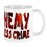 Blasphemy No Crime Small 11oz Mug