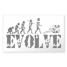 Wrestling Wrestler Rectangle Sticker 10 pk)