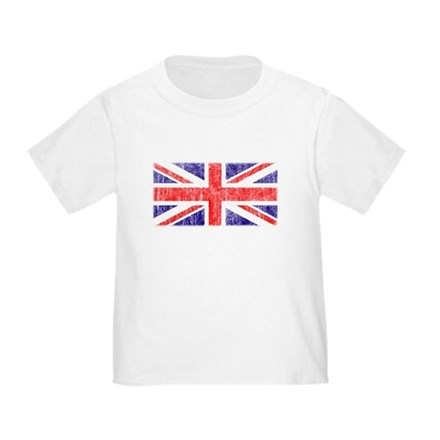 Vintage Union Jack Toddler T-Shirt
