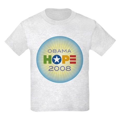 Obama Hope Circle Kids Light T-Shirt