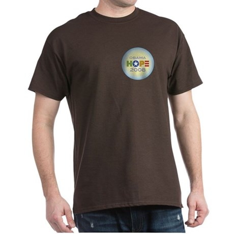 Obama Hope Circle Dark T-Shirt