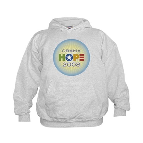 Obama Hope Circle Kids Hoodie