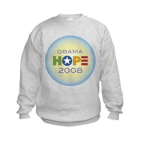 Obama Hope Circle Kids Sweatshirt