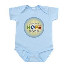 Obama Hope Circle Infant Bodysuit