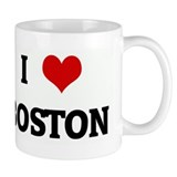 I Love BOSTON Coffee Mug