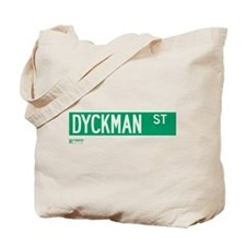 Dyckman Street in NY Tote Bag