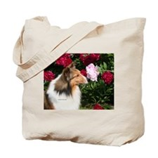 Sable Flower Tote Bag