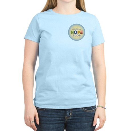 Obama Hope Circle Women's Light T-Shirt