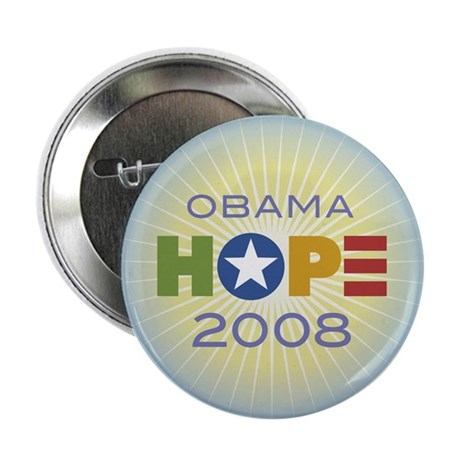 "Obama Hope Circle 2.25"" Button"