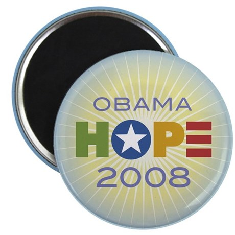 Obama Hope Circle Magnet