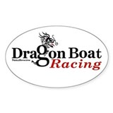 DragonBoat Racing Oval Decal