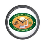 Archaeology Team Wall Clock