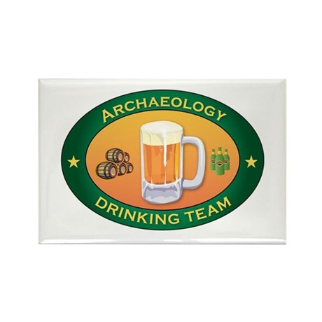 Archaeology Team Rectangle Magnet