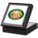 Accounting Team Keepsake Box