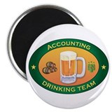 "Accounting Team 2.25"" Magnet (100 pack)"