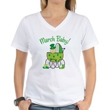 MARCH BABY! (in stroller) Shirt
